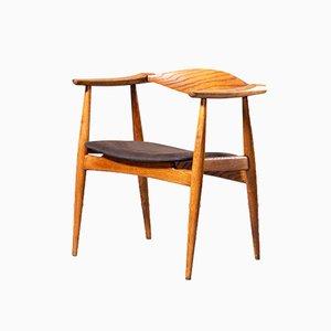 CH35 Esszimmerstühle von Hans J. Wegner für Carl Hansen, 1960er, 6er Set