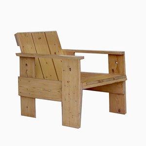 Crate Armchair by Gerrit Rietveld for Gerard van de Groenekan, 1970s
