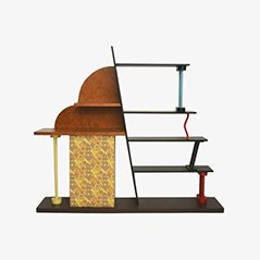 Malabar Shelf by Ettore Sottsass for Memphis, 1982