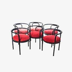 Chaises de Salon Mid-Century par Gae Aulenti pour Poltronova, 1964, Set de 6