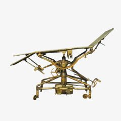 Vintage Brass Surgical Table from Down Brothers Ltd, 1890s