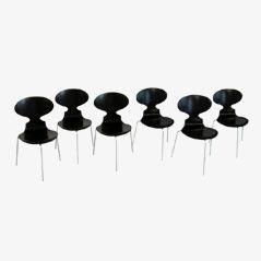 Chaises Ant FH3100 par Arne Jacobsen pour Fritz Hansen, 1969, Set de 6