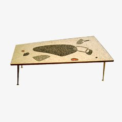 Mid-Century Mosaic Coffee Table, 1950s