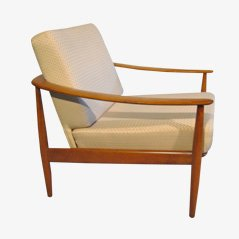 Mid-Century Modern Easy Chair, 1950s
