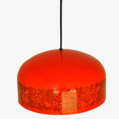 Lámpara colgante esmaltada de Kaj Franck para Fog & Mørup, años 70