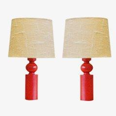 Lampe de Bureau par Uno et Östen Kristiansson pour Luxus