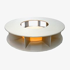 Vintage Rotating Illuminated Bazaar Coffee Table by Superstudio for Giovannetti