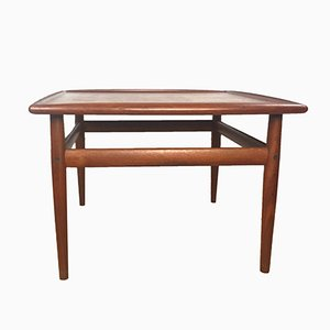 Vintage Teak Coffee Table by Grete Jalk for Glostrup Møbelfabrik