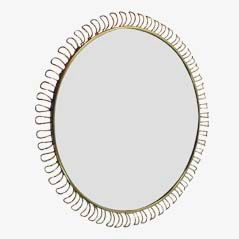 Loop Wall Mirror by Josef Frank for Svenskt Tenn, 1950s