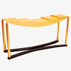 Schwarzenberg Side Table by Hans Hollein for Memphis, 1981