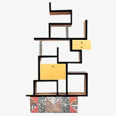 Max Bookcase by Ettore Sottsass for Memphis Milano, 1987