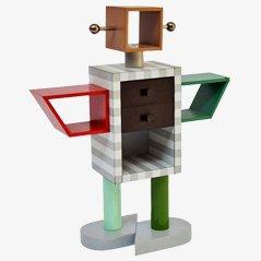 Ginza Robot Schrank von Masanori Umeda für Memphis, 1982