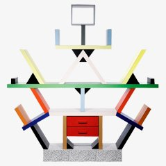Carlton Shelving Unit by Ettore Sottsass for Memphis Milano, 1980s