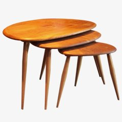 Nesting Tables by Lucian Ercolani for Ercol, Set of 3