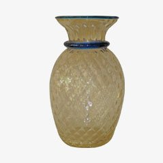 Vase Mid-Century Vénitien en Cristal, 1950s