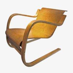 Sessel Modell 31 von Alvar Aalto für Artek/Wohnbedarf