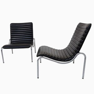 Model 703 Lounge Chairs by Kho Liang Ie for Stabin, 1968, Set of 2