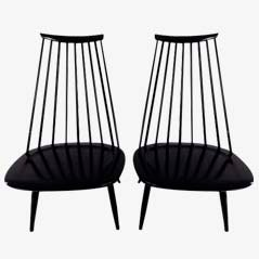 Lounge Chairs by Ilmari Tapiovaara for Artek, Set of 2