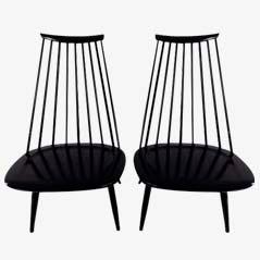 Lounge Chairs by Ilmari Tapiovaara for Artek, Set of 2