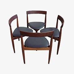 Chaises de Salon Compacte par Hans Olsen pour Frem Rojle, Set de 4