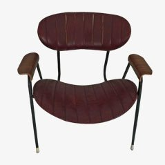 Mid-Century Lounge Chair by Gastone Rinaldi for Rima, 1950s