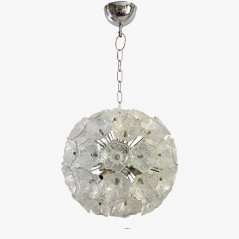 Glass Vintage Sputnik Chandelier by Venini