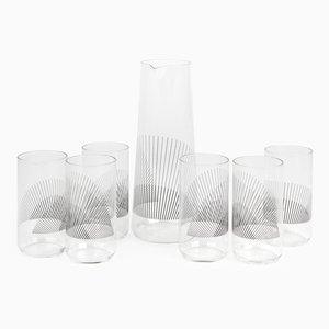 Set di bicchieri Cumulo in vetro di Liliana Ovalle