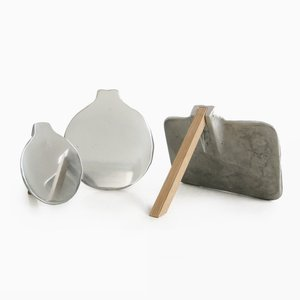 Looking Pewter Set by Liliana Ovalle