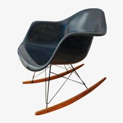 Vintage Rocking Chair by Eames for Herman Miller-Vitra