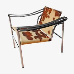 LC1 Chair by Le Corbusier, Jeanneret and Perriand for Cassina