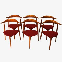 Heart Shaped Wegner Chairs