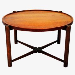 Vintage Tray Table by Hans J. Wegner for Andreas Tuck