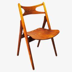 Sawback Ch29 Stuhl von Hans J. Wegner für Carl Hansen & Søn