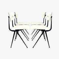 Result Chairs par Friso Kramer pour Ahrend de Cirkel, 1970s, Set de 4