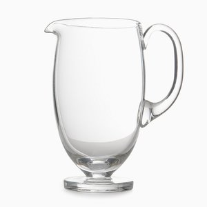 Tulip Carafe in Transparent Blown Glass by Aldo Cibic for Paola C., 2018