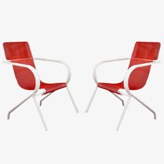 Chairs by Claude Adrien for Meubles Artistiques,1950s, Set of 2