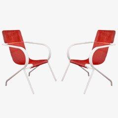 Stühle von Claude Adrien für Meubles Artistiques, 1950er, 2er Set