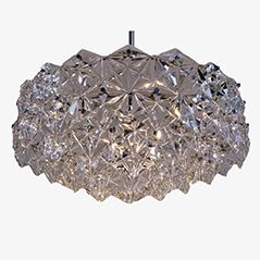 Tiered Crystal Chandelier from Kinkeldey, 1970s