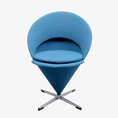 Cone Swivel Chair by Verner Panton, 1960s