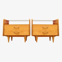 Mid-Century Duo XS Chest of Drawers, 1950s, Set of 2