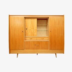 Mid Century Ulmen Highboard, 1950er