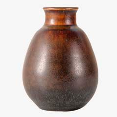 Vintage Tobo Vase von Erik & Ingrid Triller für Tobo Stengodsverkstad