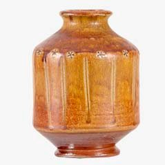 Vintage Vase aus Tonware von Sven Bolin für Höganäs, 1960er