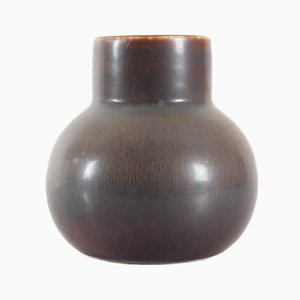 Hare's Fur Glaze Vase by Carl Harry Stålhane for Rörstrand