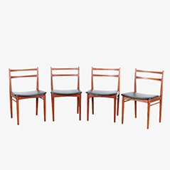 Dining Chairs by Harry Rosengren Hansen for Brande Møbelindustri, Set of 4