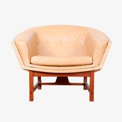 Scandinavian Corona Easy Chair by Lennart Bender for Ulferts Möbler