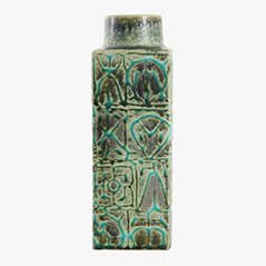 Scandinavian Green Baca Vase by Nils Thorsson for Royal Copenhagen