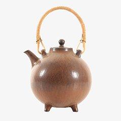 Scandinavian Ceramic Tea Pot by Gunnar Nylund for Rörstrand