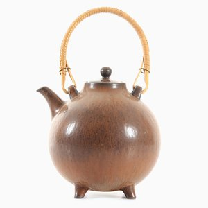 Scandinavian Ceramic Tea Pot by Gunnar Nylund for Rörstrand