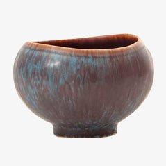 Vase, Modèle AUX, Bleu par Gunnar Nylund pour Rörstrand